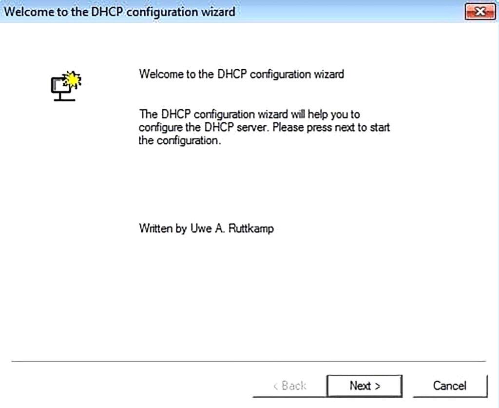 آموزش راه اندازی Server DHCP- مرحله ششم