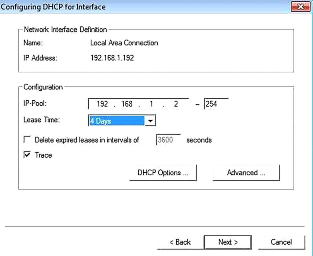 آموزش راه اندازی Server DHCP- مرحله نهم