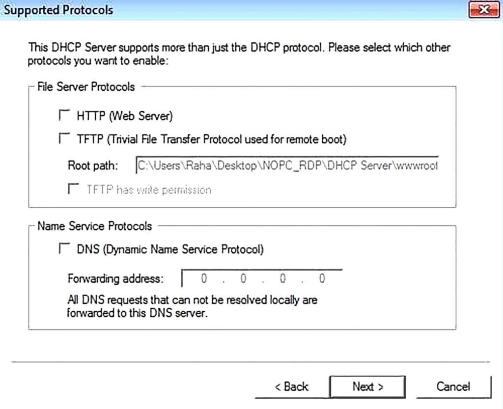 آموزش راه اندازی Server DHCP- مرحله هشتم