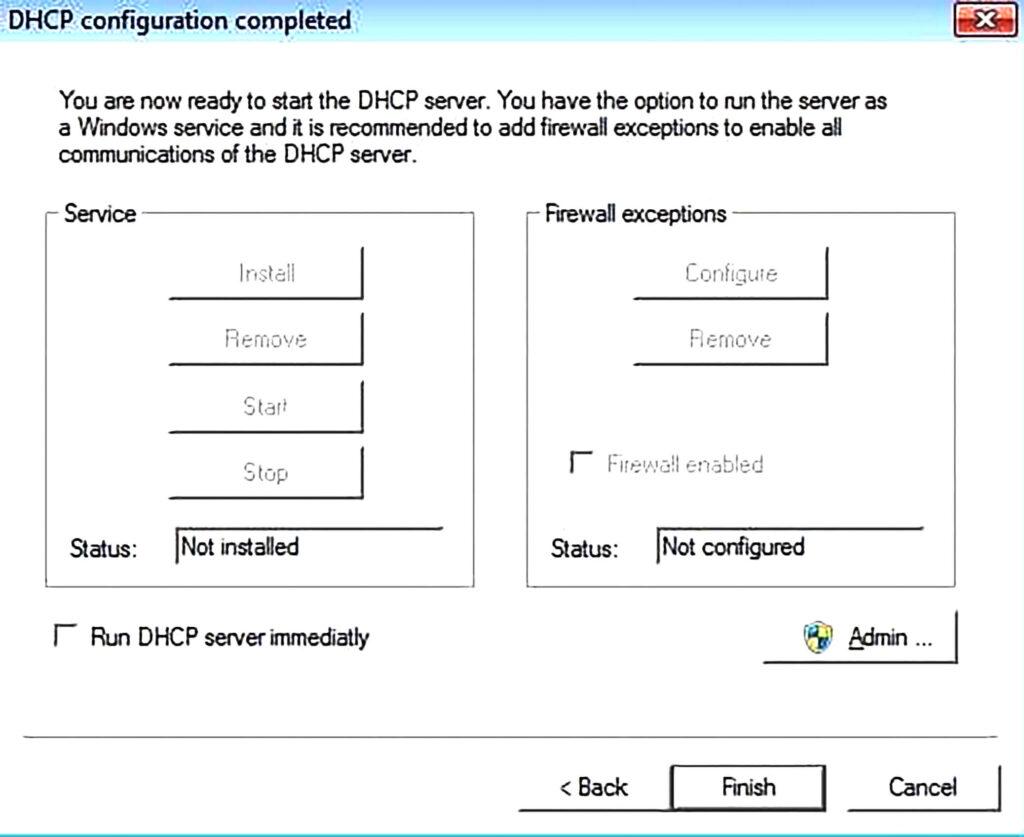 آموزش راه اندازی Server DHCP-مرحله چهاردهم