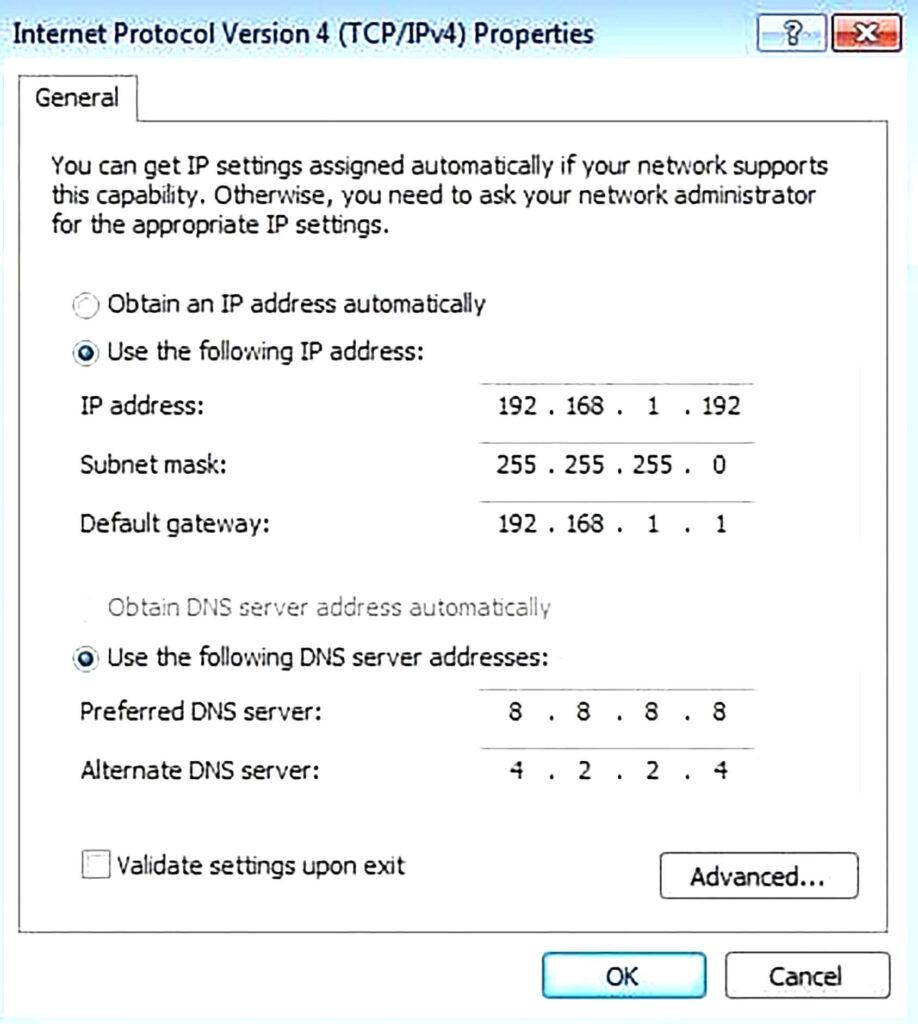 آموزش راه اندازی Server DHCP- مرحله چهارم