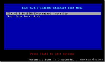 آموزش نصب ESXi-مرحله اول