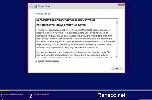 نصب ویندوز روی انواع تین کلاینت- مرحله سوم