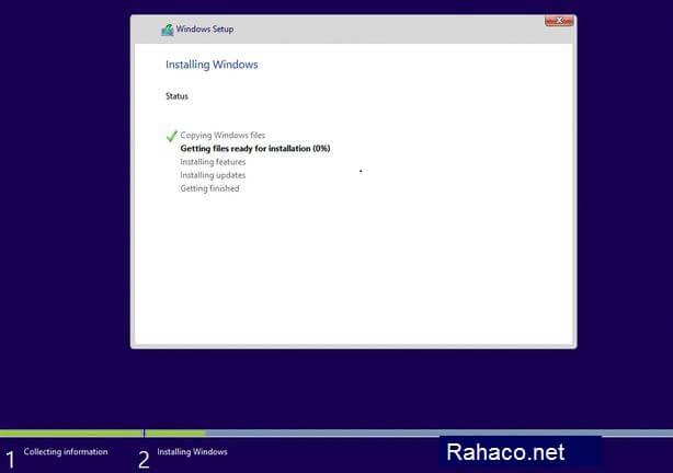 نصب ویندوز روی انواع تین کلاینت- مرحله ششم