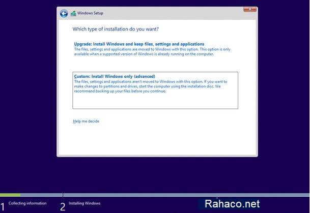 نصب ویندوز روی انواع تین کلاینت- مرحله چهارم
