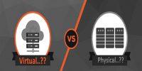 تفاوت مجازی سازی سرور با سرور فیزیکی