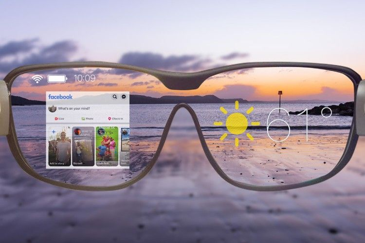 تلاش فیس بوک برای ساخت عینک هوشمند